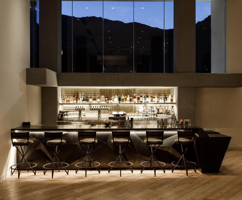 Window Bar in the Lobby