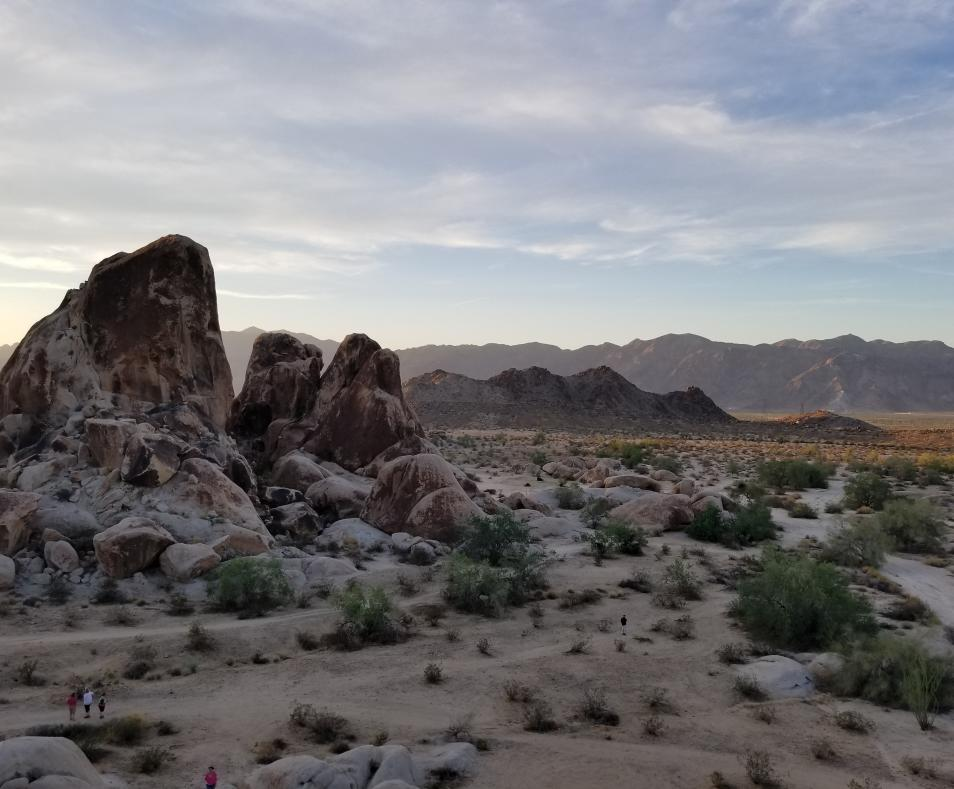 Massive Granite Rock Formations