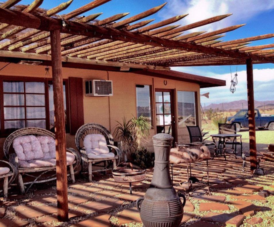 Adobe cottage