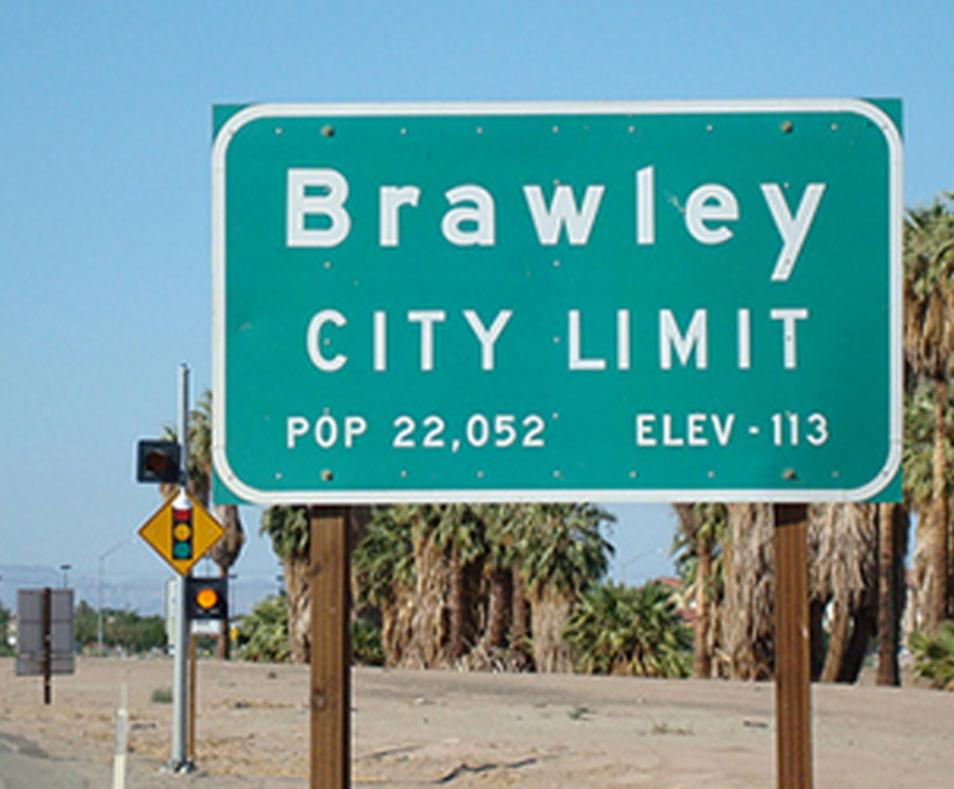 Brawley City Limits