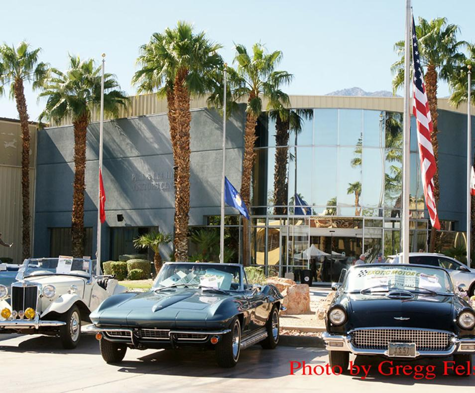 Halloween Themed Chili CookOff Car Show - Palm springs classic car show