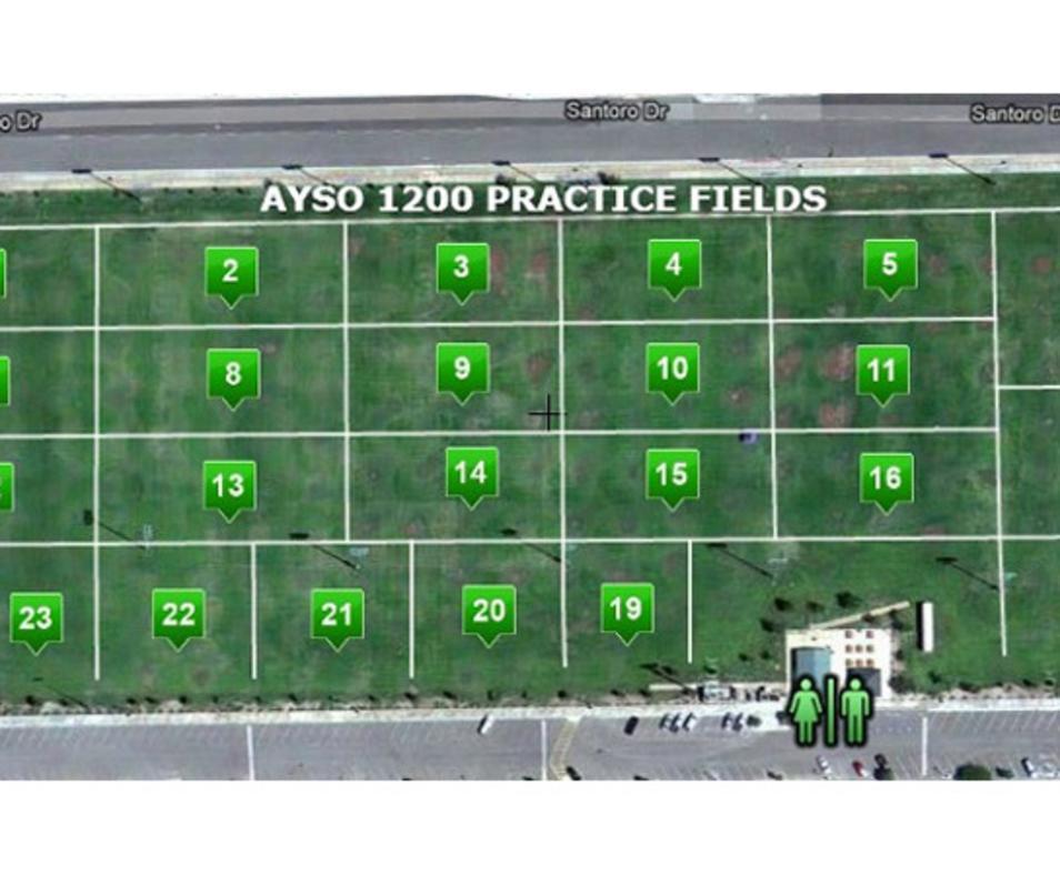 Dennis Keat Soccer Park Practice Fields