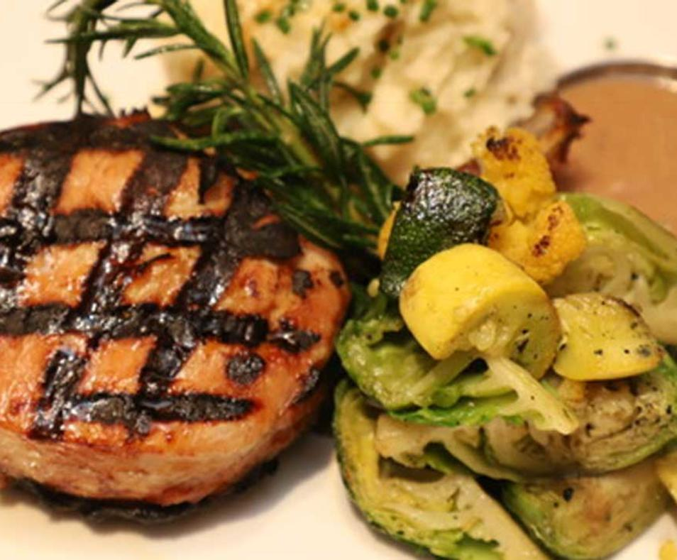 Honey Brined Pork Chop