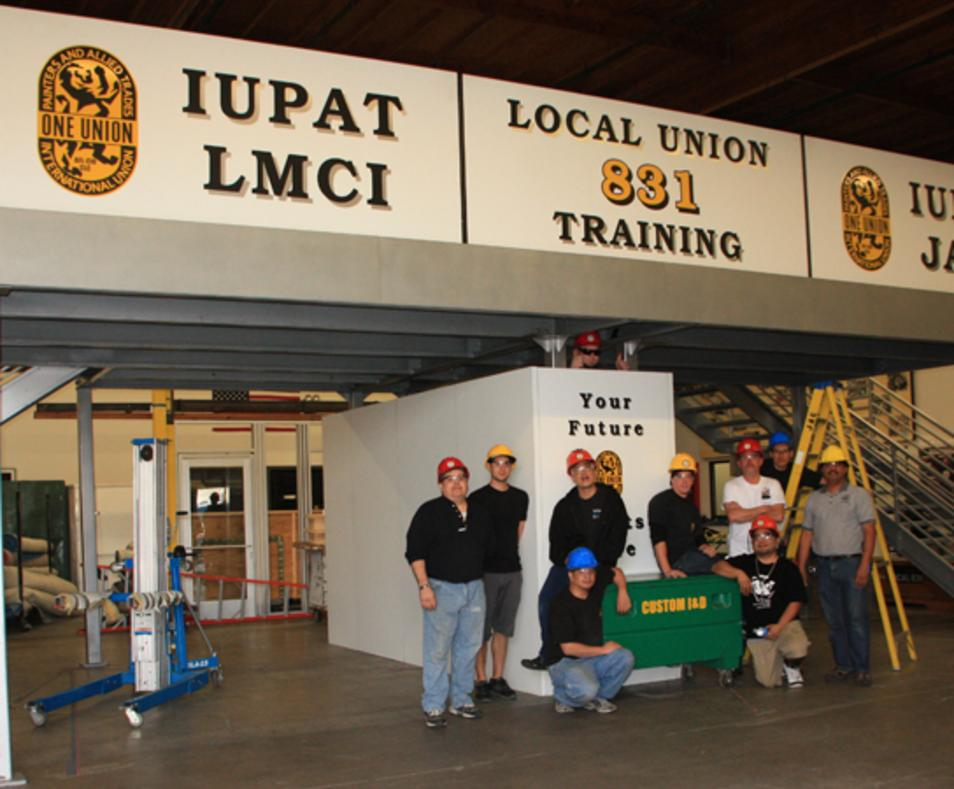Local Union 831 Tradeshow Decorators