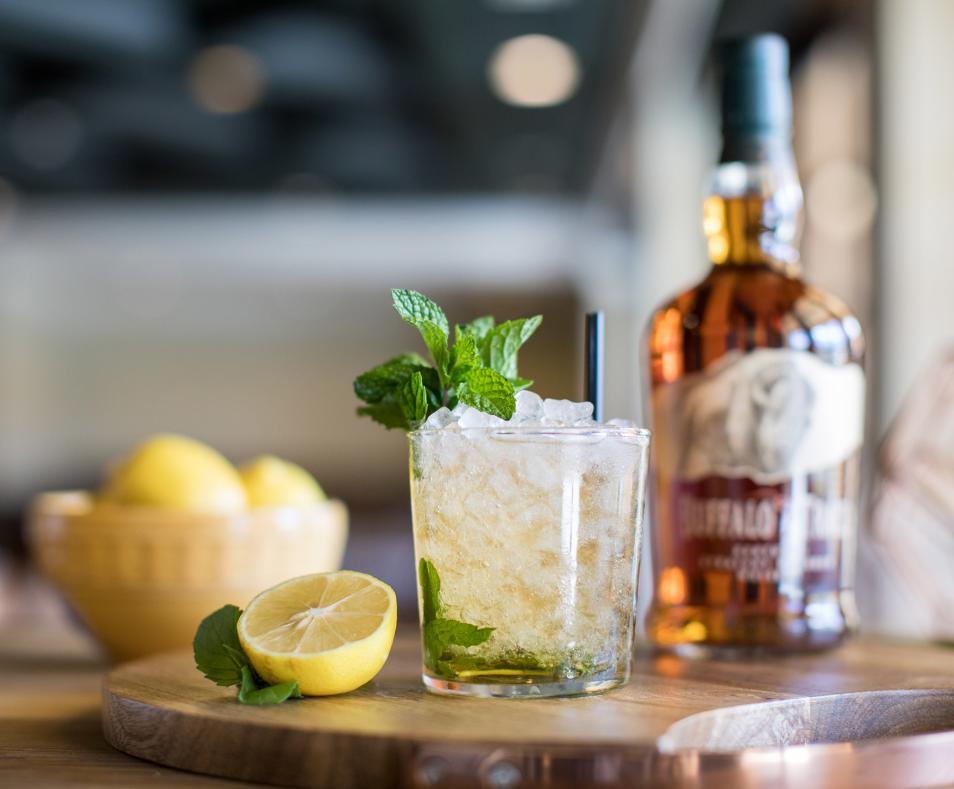 Citrus & Palm cocktail