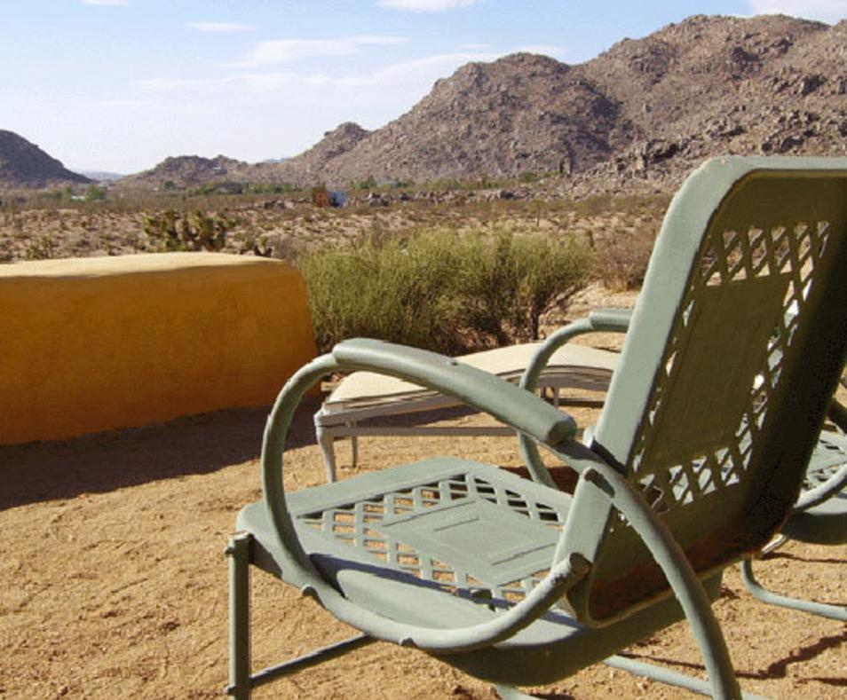 Outdoor private spa