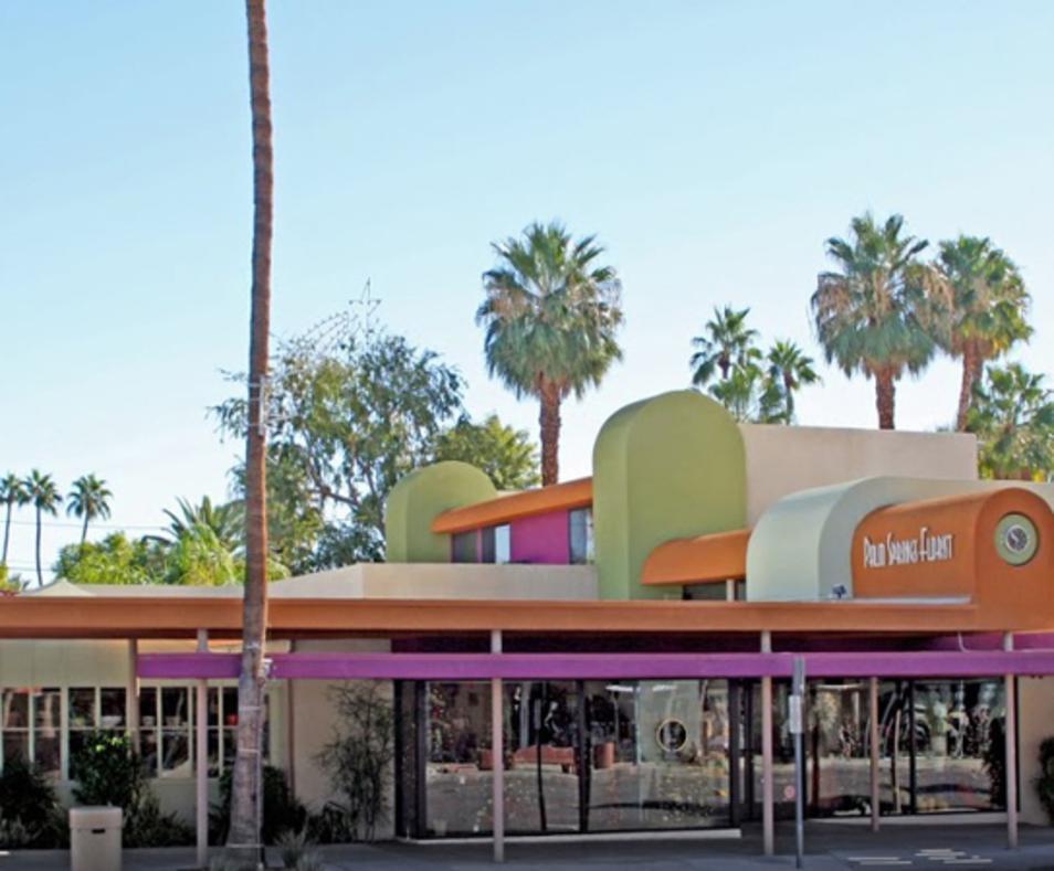 Palm Springs Florist outside