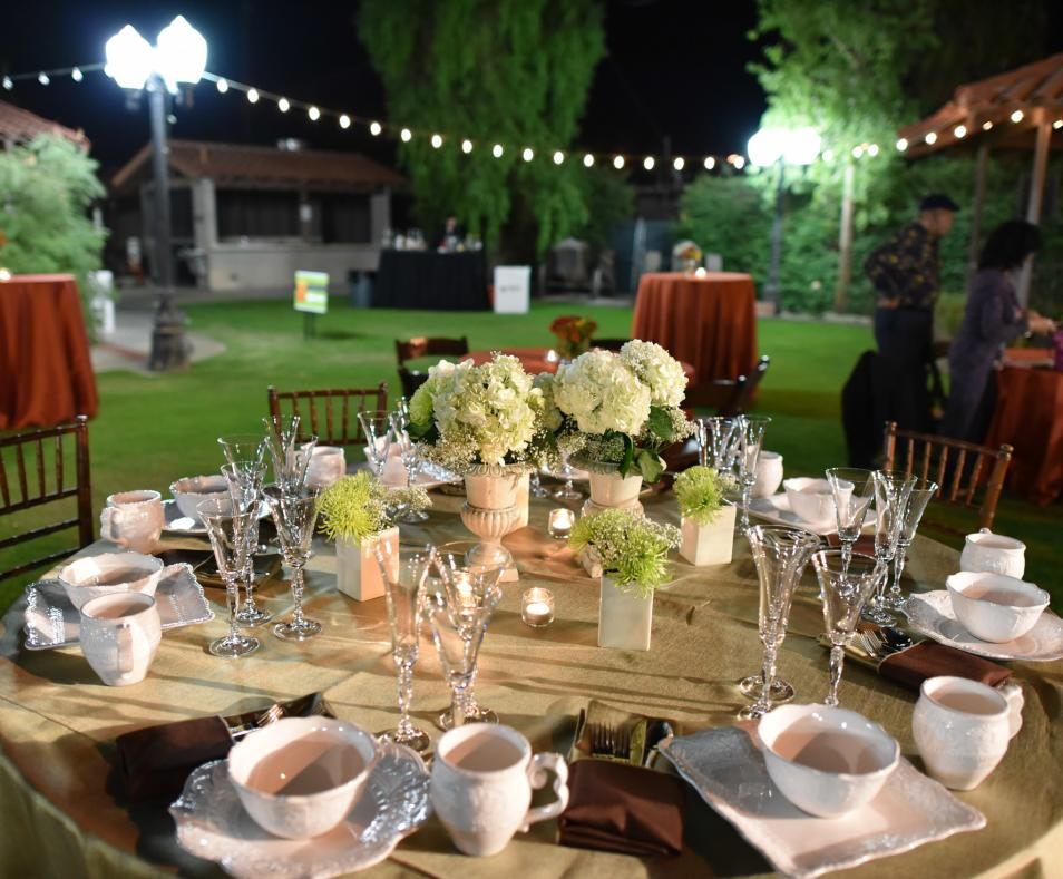 Coachella Valley History Museum table setting