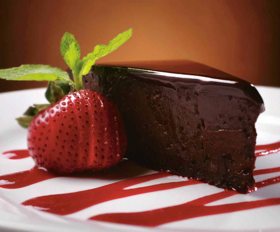 Ruth's Chris chocolate sin cake