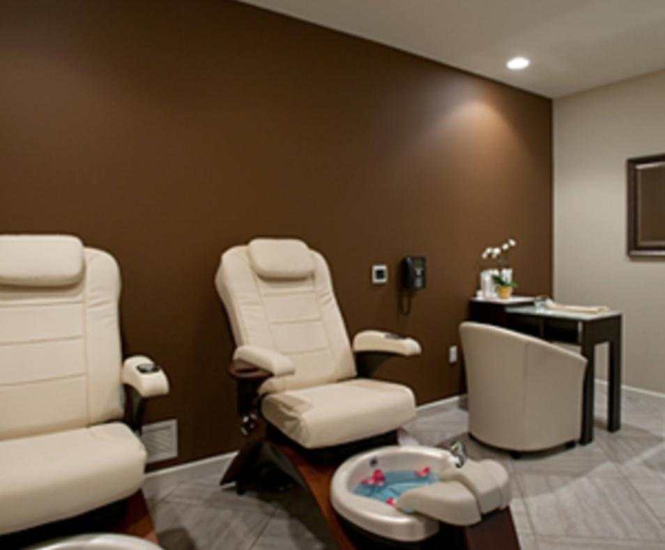 Studio M Salon and Spa Palm Springs Manicure Pedicure Room