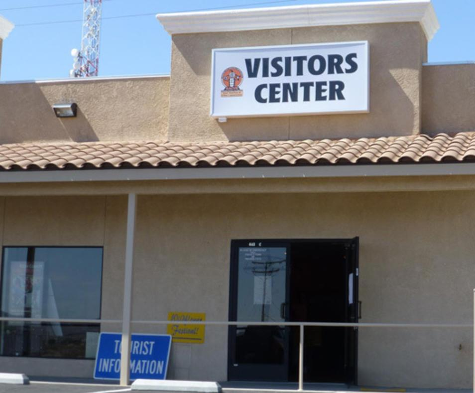 Ridgecrest visitor center