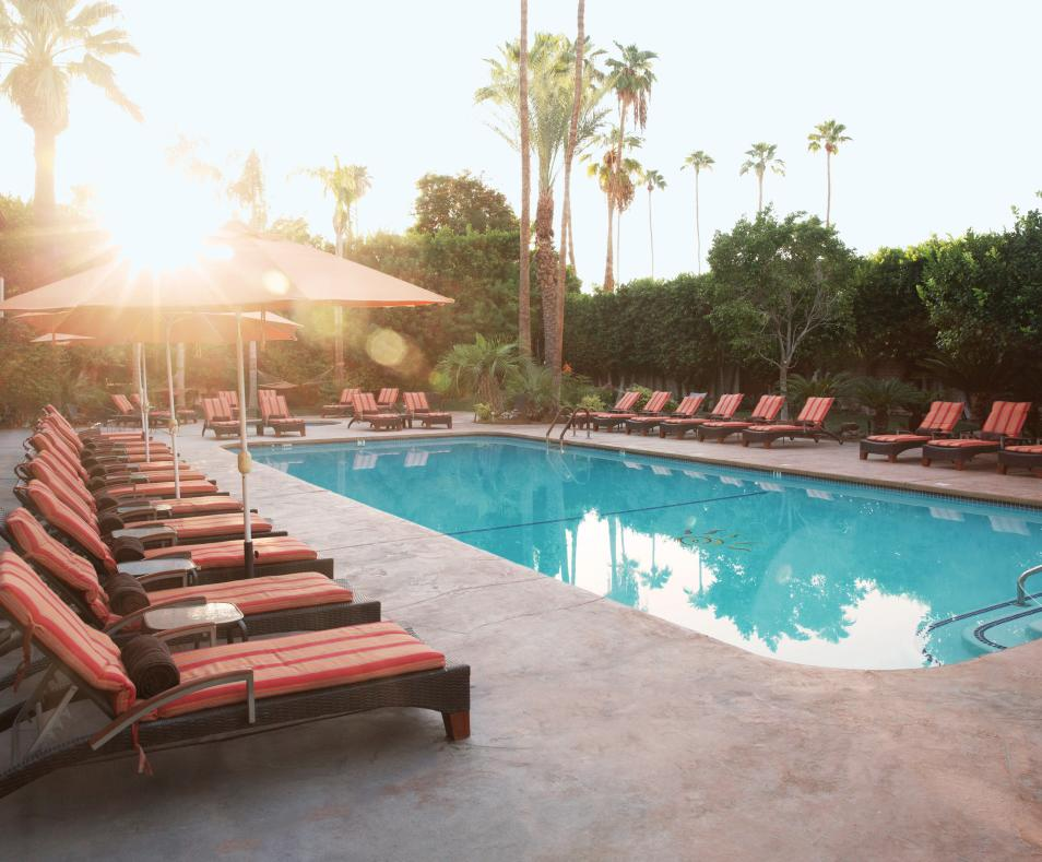 Poolside at Santiago Resort