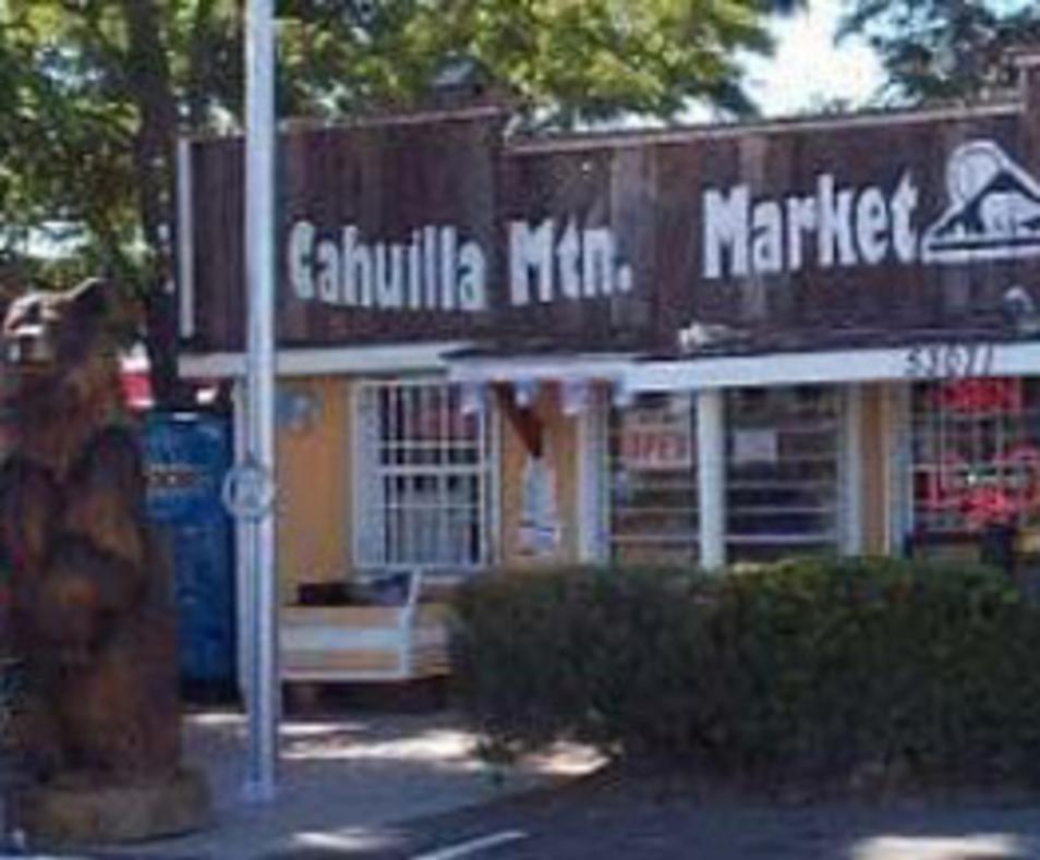 Cahuilla Mountain Market & Café