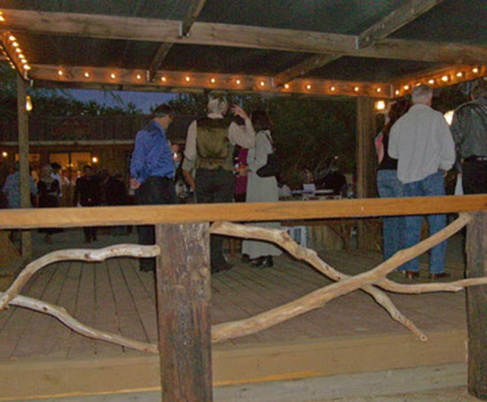 Bubbling Wells Ranch event area