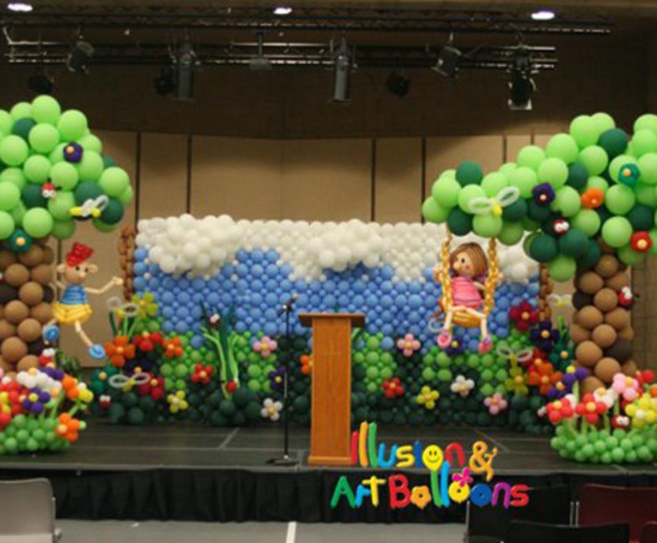 Illusion and Art Balloons