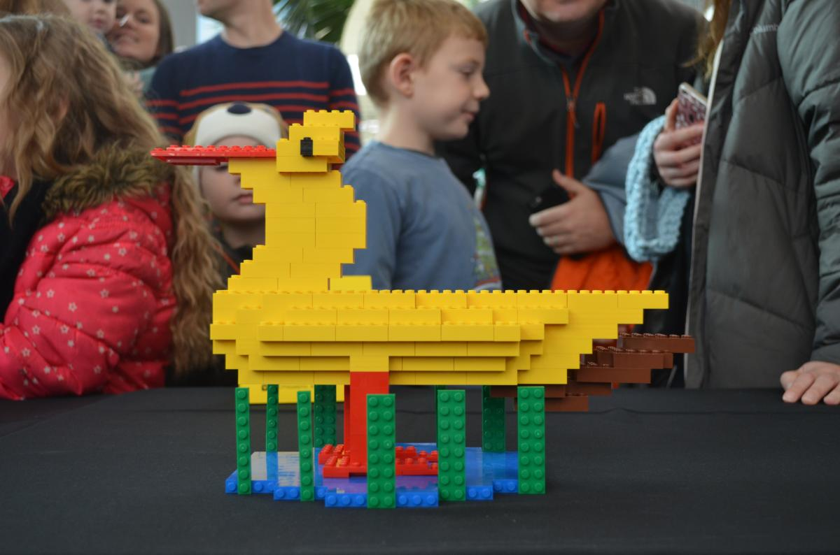 LEGOLAND Master Builder Duck Sculpture