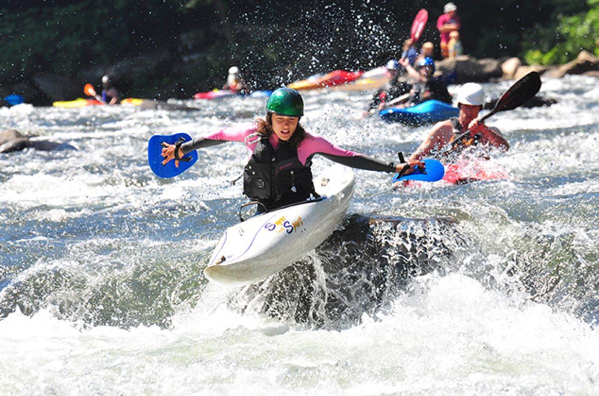 Kayaking in the Laurel Highlands