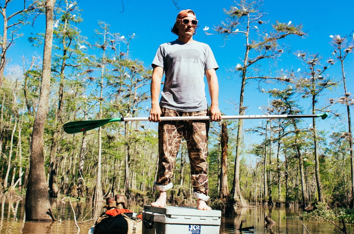 Bayou Vermilion Excursion: Standing Paddleboard