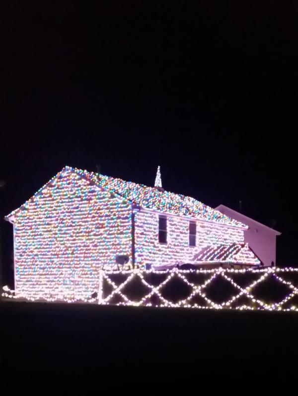 9314 Monique Drive - Best Christmas Lights Display - EAST