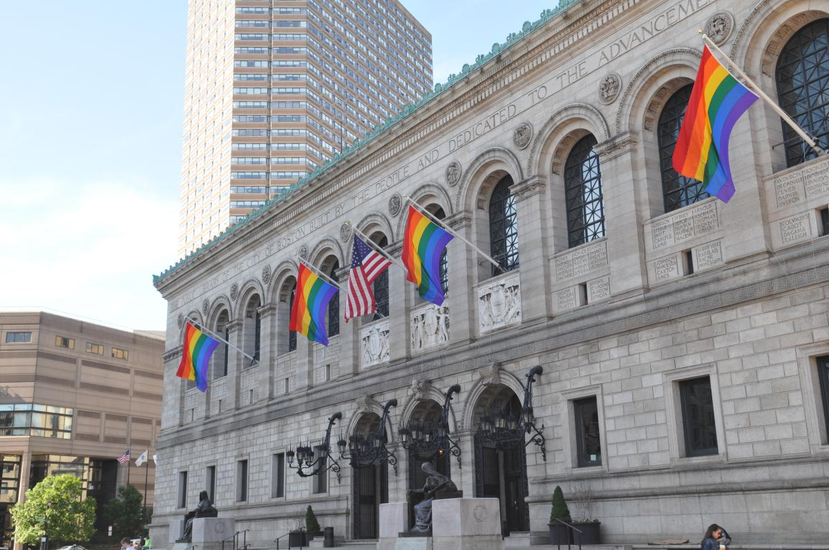 LGBT Library Flags