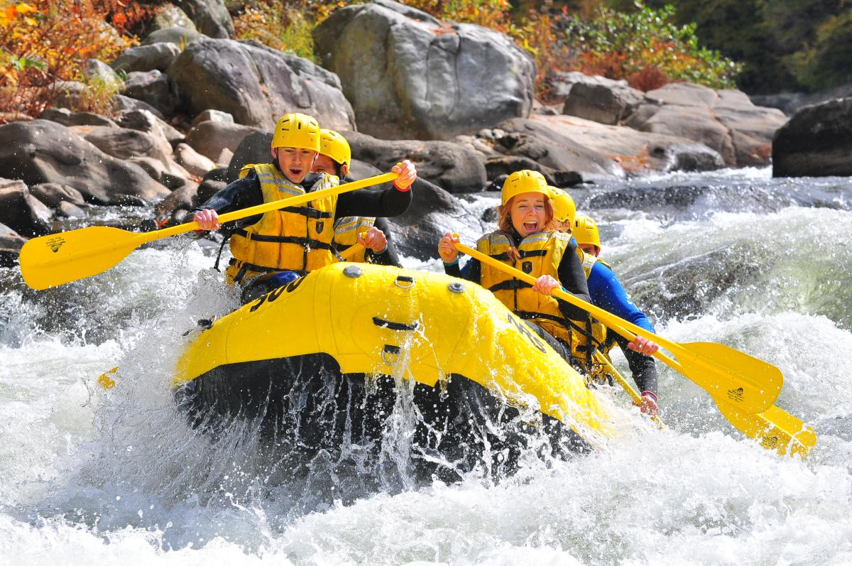 Whitewater Rafting in the Laurel Highlands