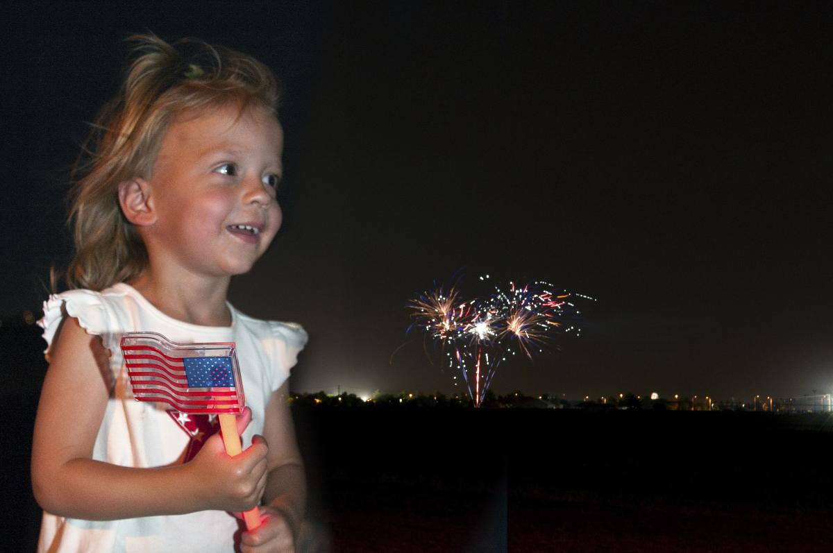July Fourth Fireworks Spectacular