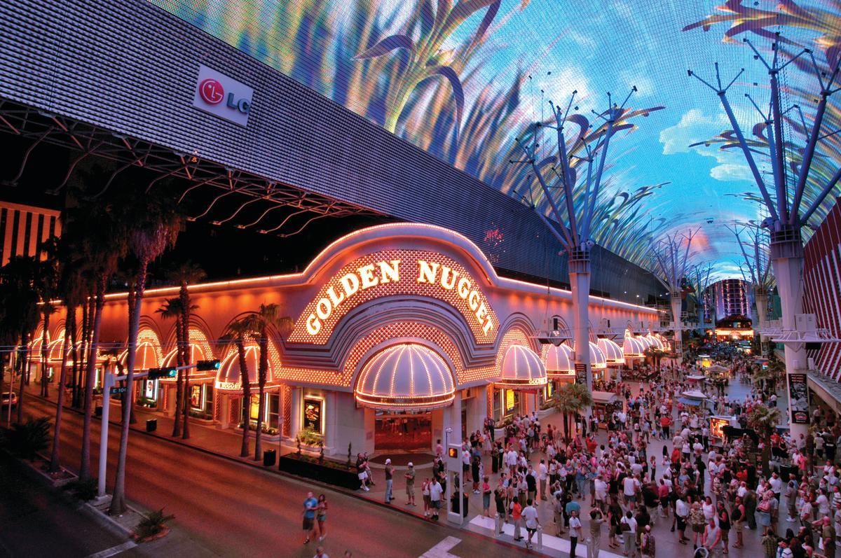 Golden Nugget hotel exterior