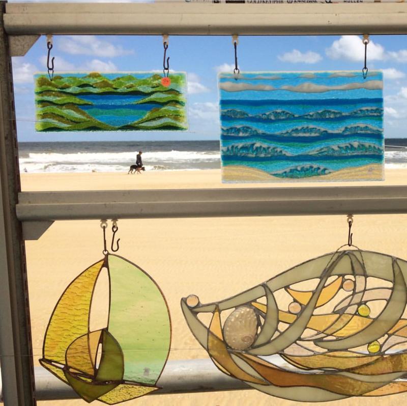 Neptune Boardwalk Weekend Art
