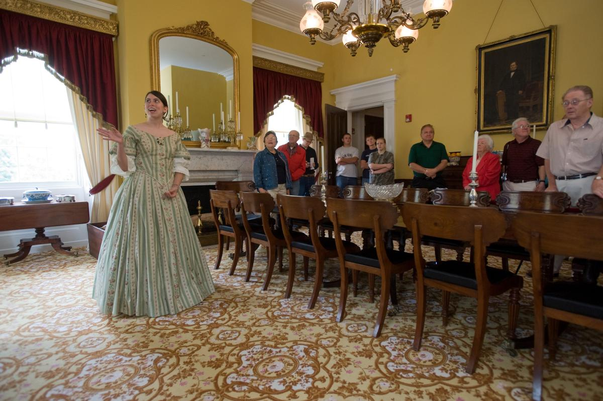 interior tour old governors mansion milledgeville