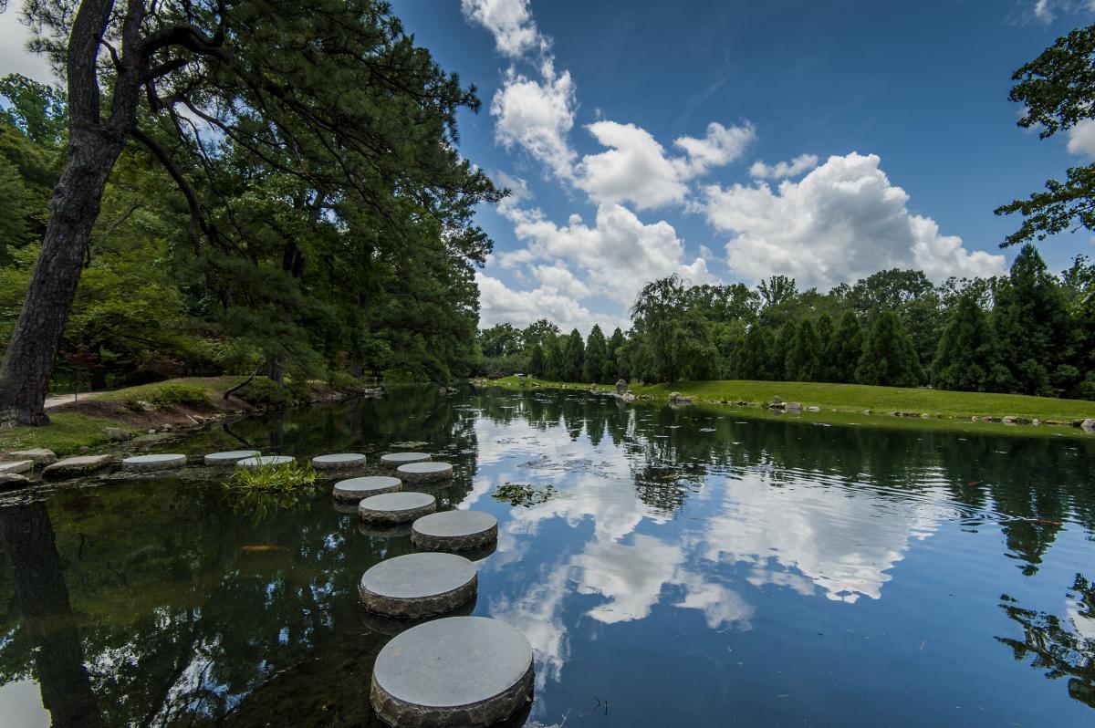 Maymont Japanese Garden Stepping Stones