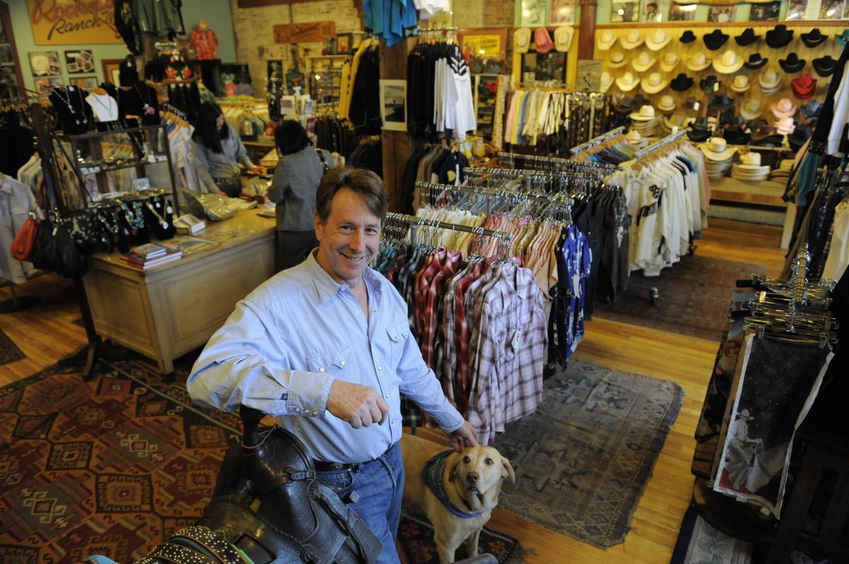Rockmount Ranch Wear inside store