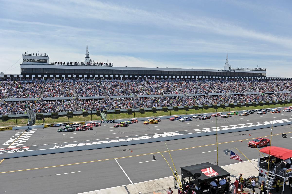 NASCAR at Pocono Raceway