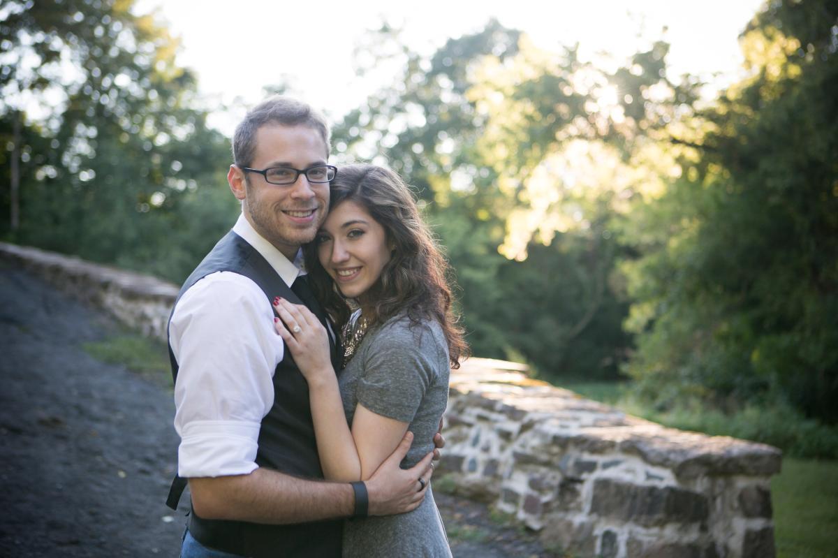 Schofield Ford Bridge Engagement, Devon John Photography