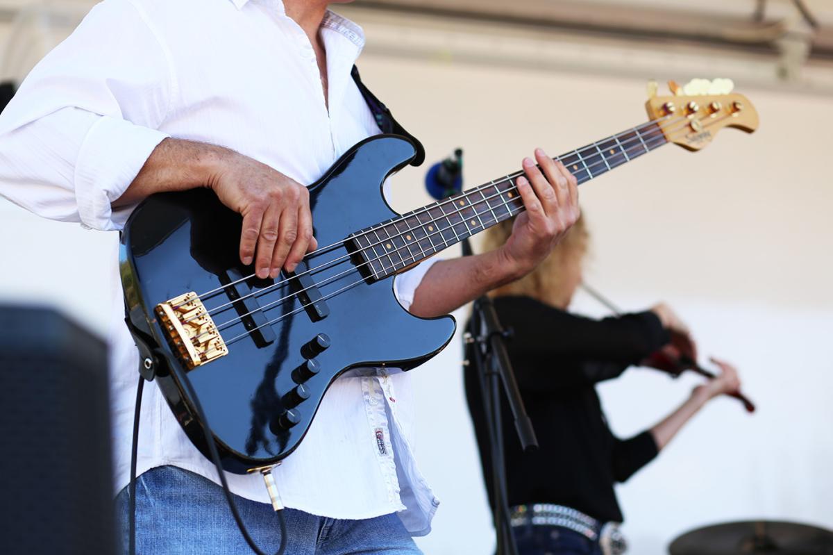 2016 SpringFest Guitar Player