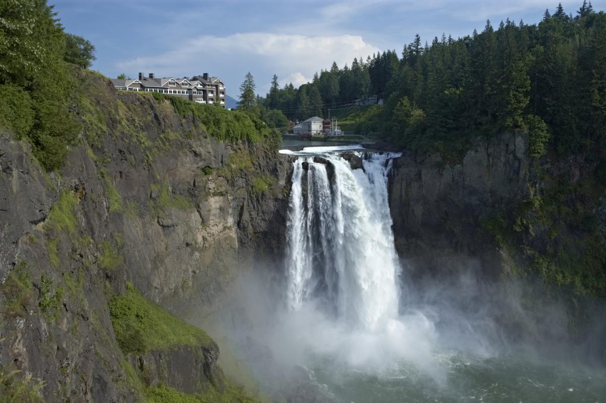 Snoqualmie Falls waterfall