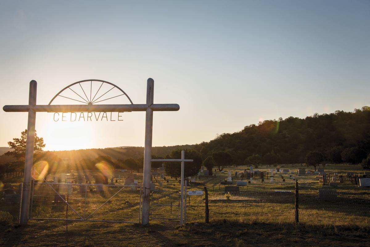 Cedarvale Cemetery.
