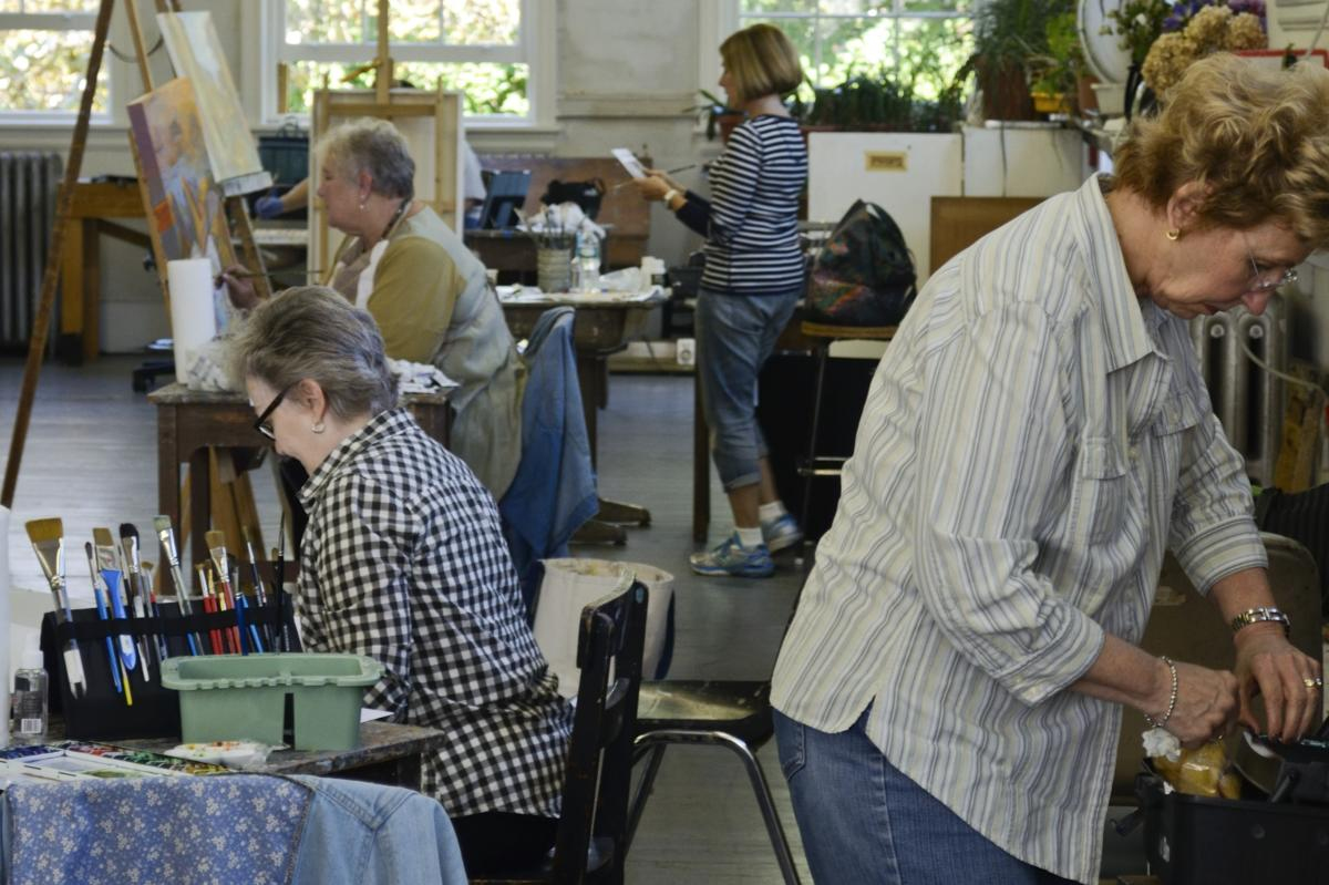 Cheltenham Center for the Arts Painting Class