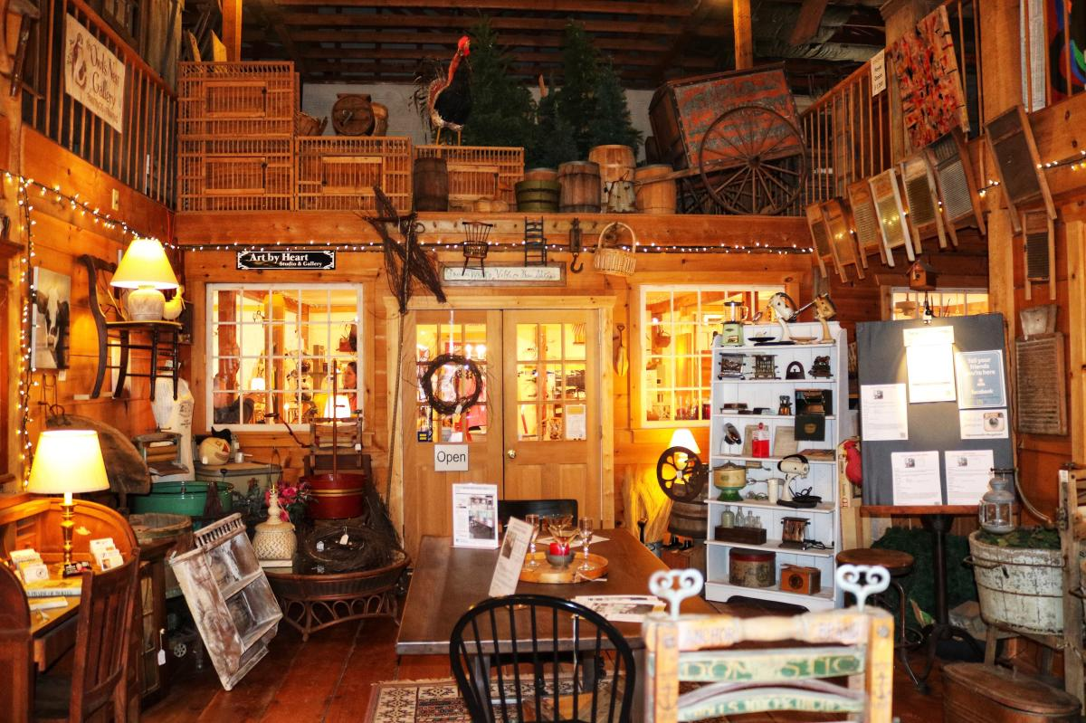 Green Wolf's Village Barn Shoppes Skippack Jessica Lawlor