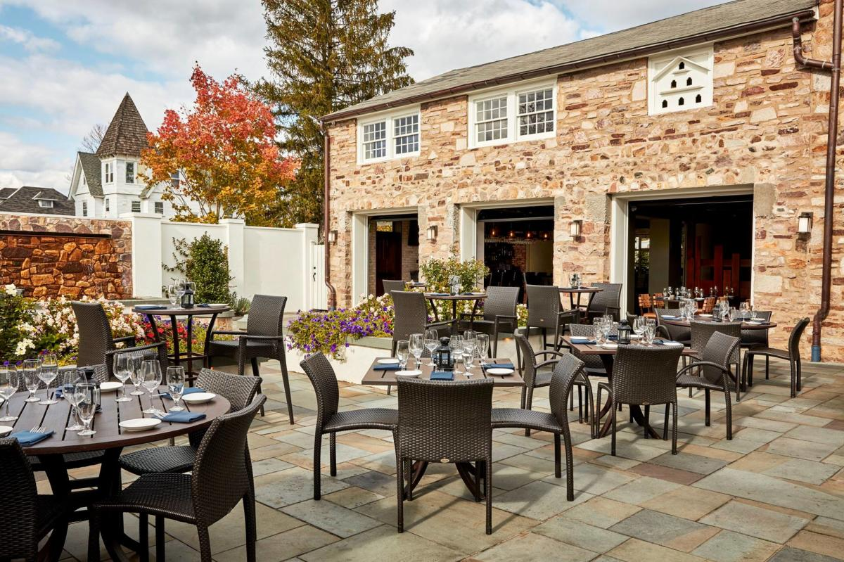 Blue Bell Inn Outdoor Dining