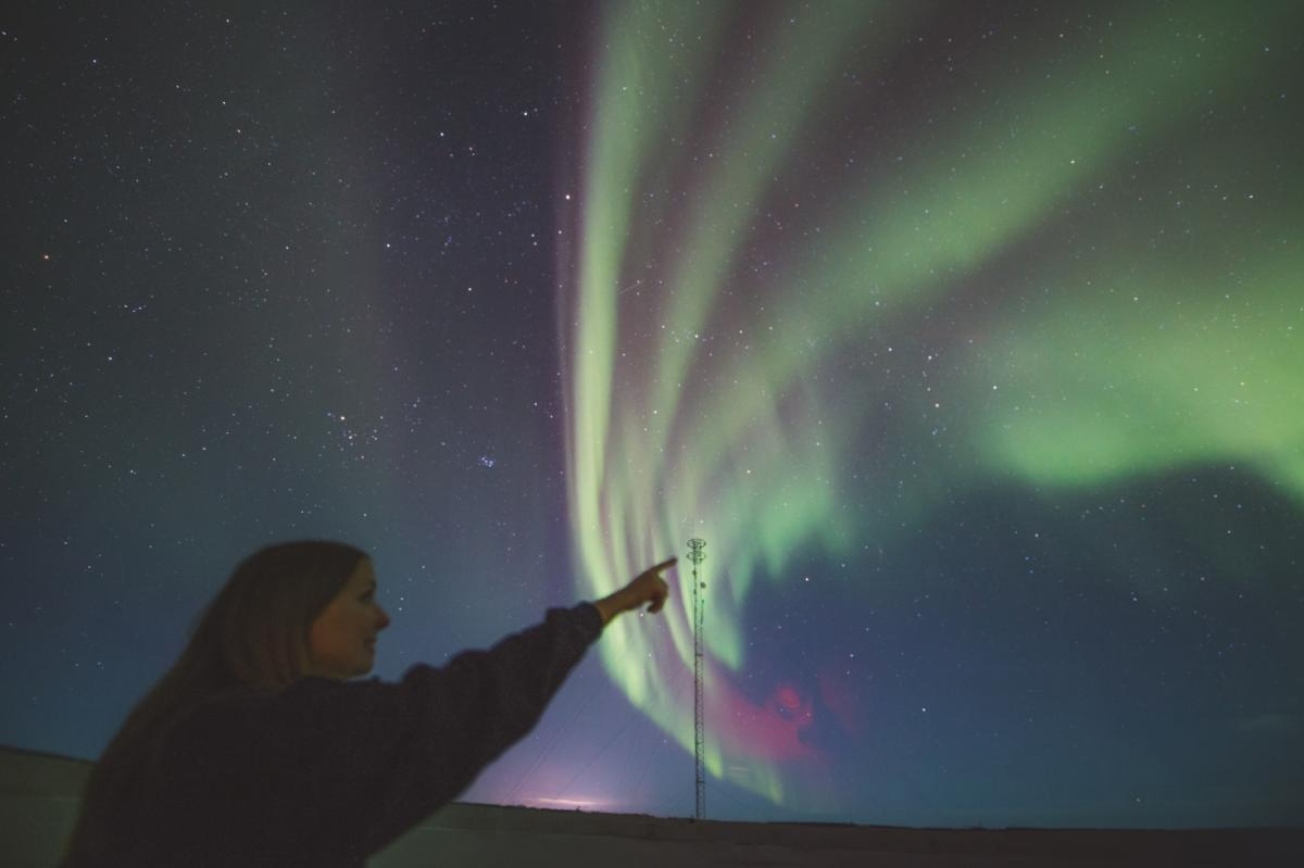Aurora dome at the Churchill Northern Studies Centre