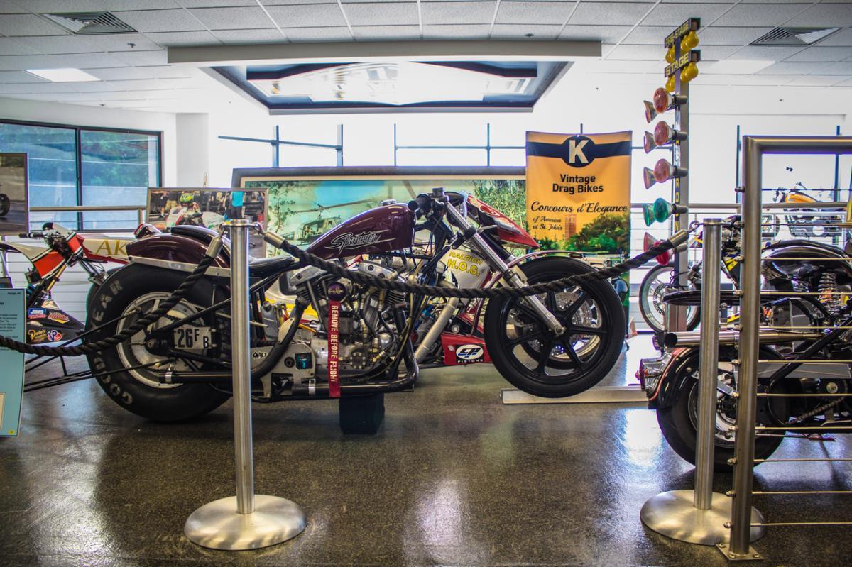 Legends of HarleyDrag Racing Museum