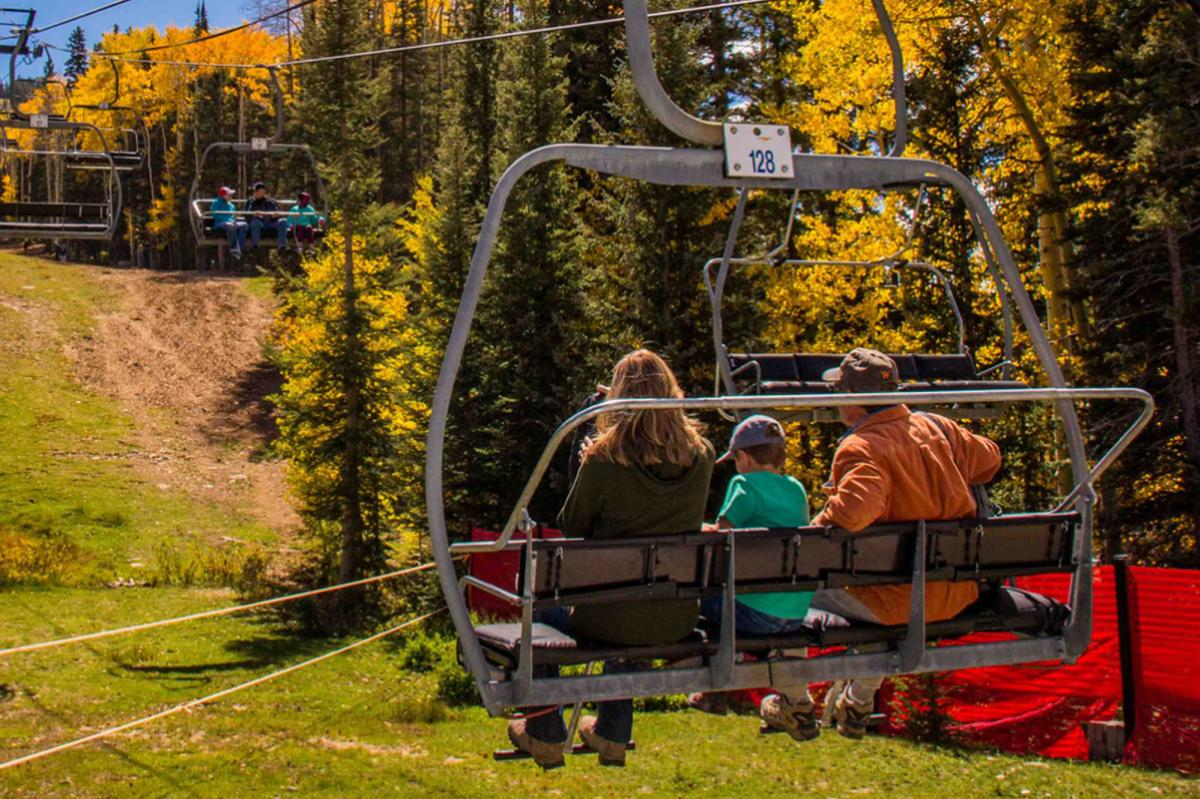 chair lift rides fall