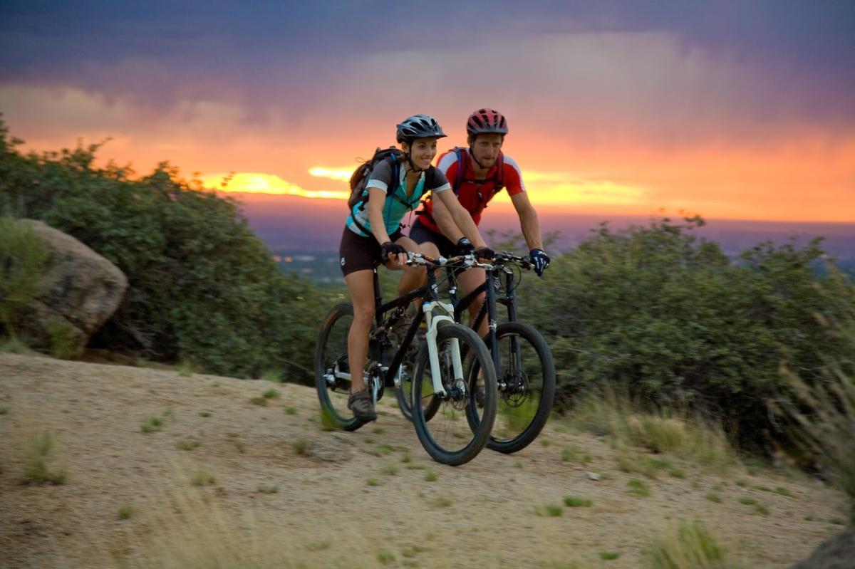 Mountain Biking in the Sandia Foothills