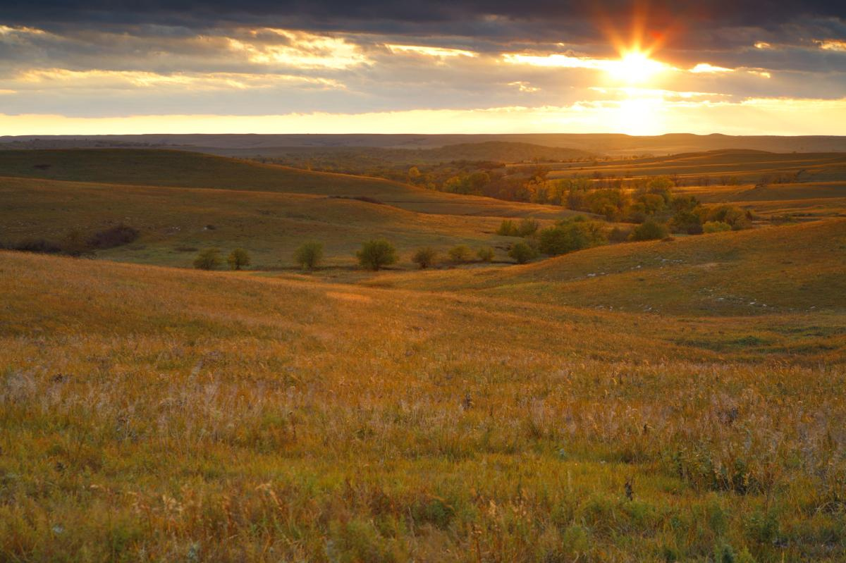 Flint Hills Sunrise