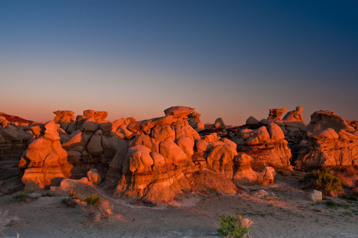 Bisti Rock Formations