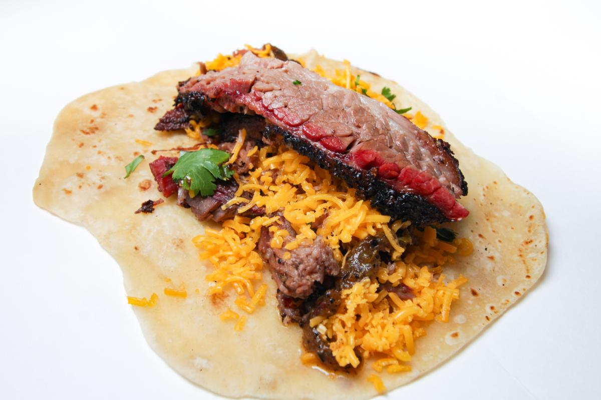 Tacos at The Pit Room