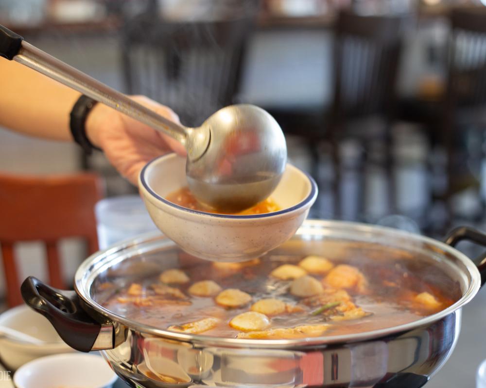 Sticky Rice Hot Pot