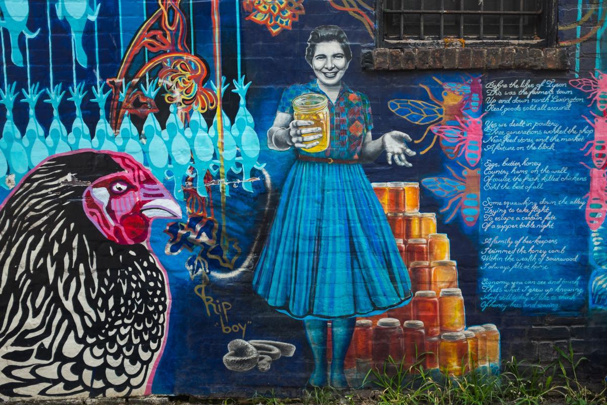 Mural Story: Chicken Alley