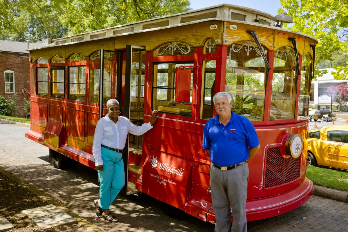 Historic Trolley Tour Guides