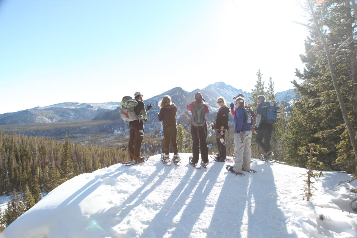 Colorado Wilderness Rides and Guides Adventure Snowshoeing